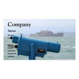 Observation Viewer Alcatraz Business Card Templates