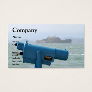 Observation Viewer Alcatraz Business Card