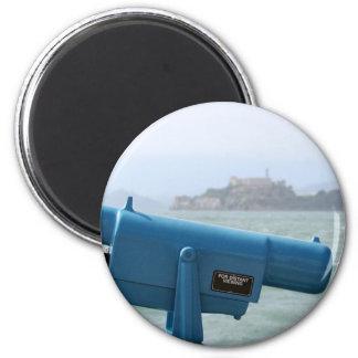 Observation Viewer Alcatraz Fridge Magnet