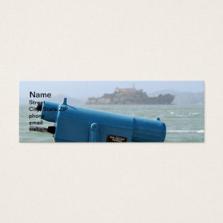 Observation Viewer Alcatraz Mini Business Card