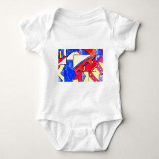 observational clockwork baby bodysuit