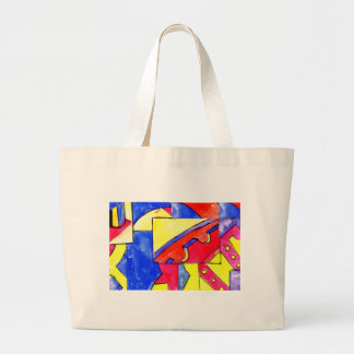 observational clockwork canvas bags