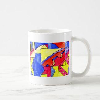observational clockwork coffee mug