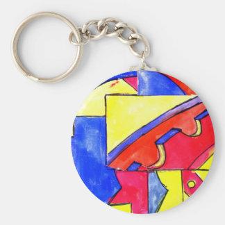 observational clockwork keychain