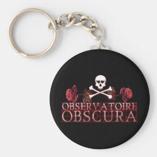Observatoire Obscura Logo Keychain