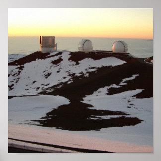 Observatories_Hawaii Póster