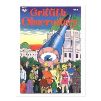 """Observatorio"" #1, 1979 de Griffith Tarjetas Postales"