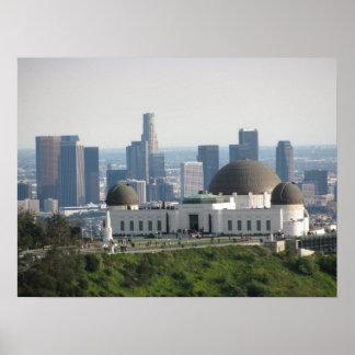Observatorio de Griffith y Los Ángeles céntrico Impresiones