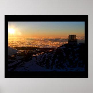 Observatorio de Keck Póster