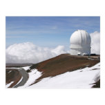Observatorio de Mauna Kea Tarjeta Postal