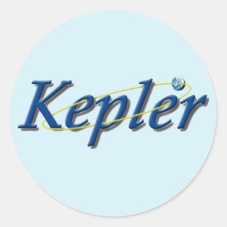 Observatorio del espacio de Kepler Pegatina Redonda