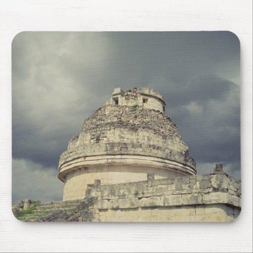 Observatorio maya del EL Caracol Alfombrilla De Ratones