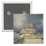 Observatorio maya del EL Caracol Pin Cuadrado