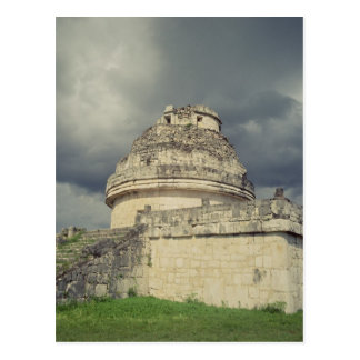 Observatorio maya del EL Caracol Postal