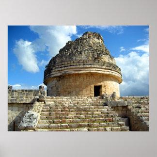 Observatorio maya póster