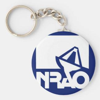 Observatorio nacional de la radioastronomía llavero redondo tipo pin