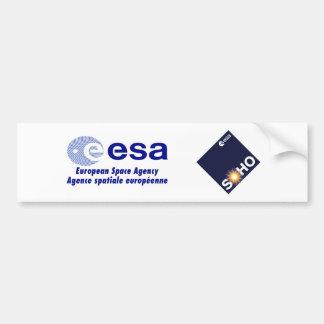 Observatorio solar y de Heliospheric (SOHO) Pegatina Para Auto
