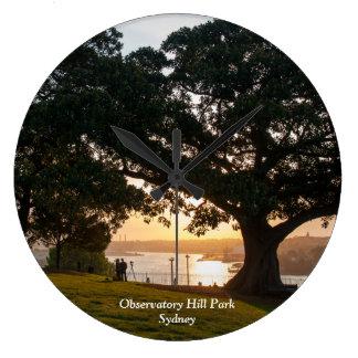 Observatory Hill Park, Sydney Large Clock