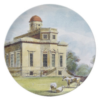 Observatory, Richmond Gardens, plate 14 from 'Kew