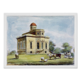 Observatory, Richmond Gardens, plate 14 from 'Kew Poster