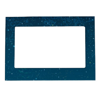 Observatory under Starry Night Sky Magnetic Picture Frame