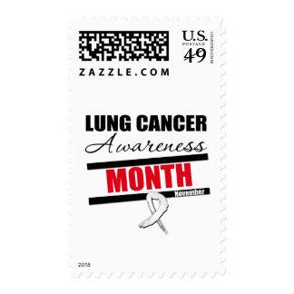 Observe el mes de la conciencia del cáncer de sello