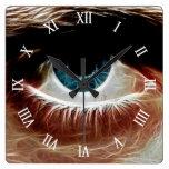 Observe l ventana del alma l arte abstracto relojes