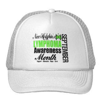 Observe Non Hodgkins Lymphoma  Awareness Month Mesh Hat