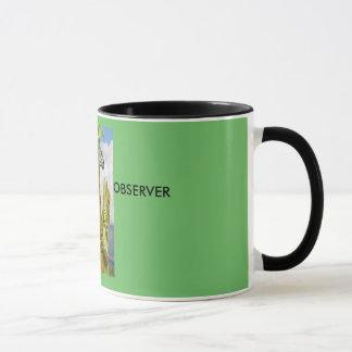 Observer in Green Mug