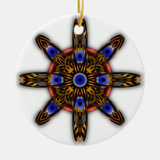 Observer Type Parasite Transparent Ceramic Ornament