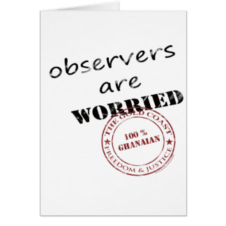 observers are worried greeting card