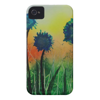Observing Blue Flowers Case-Mate iPhone 4 Cases