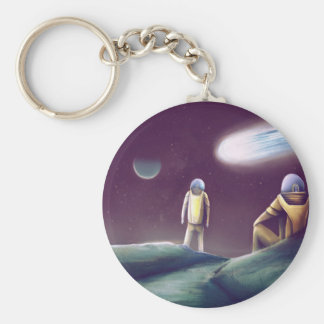Observing The Energy Comet Keychain