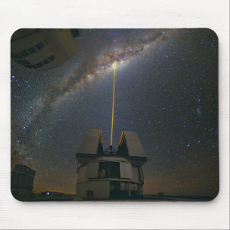 Observing the Milky Way using the Laser Guide Star Mouse Pads