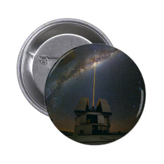 Observing the Milky Way using the Laser Guide Star Pinback Button