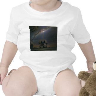 Observing the Milky Way using the Laser Guide Star T-shirts