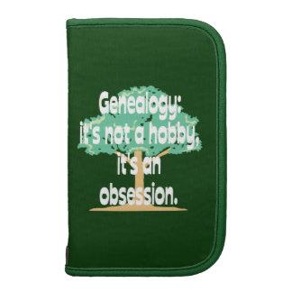 Obsesión de la genealogía organizador