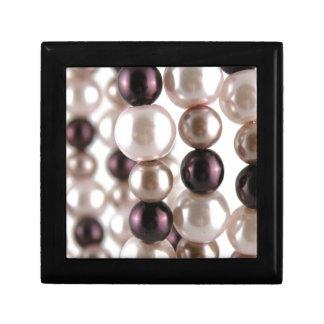 Obsesión de la perla caja de joyas