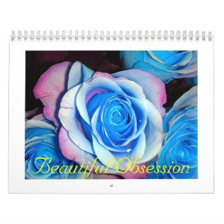 Obsesión hermosa calendarios