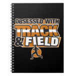Obsesionado con atletismo cuadernos