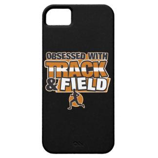 Obsesionado con atletismo iPhone 5 carcasa