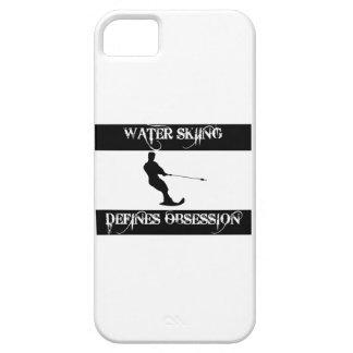 obsesionado con el esquí acuático iPhone 5 funda