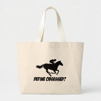 Obsesionado con el obstáculo bolsas