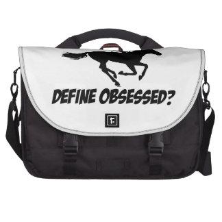 Obsesionado con el obstáculo bolsas de portátil