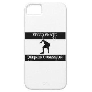 obsesionado con el patín de la velocidad funda para iPhone 5 barely there