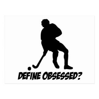 Obsesionado con hockey postal