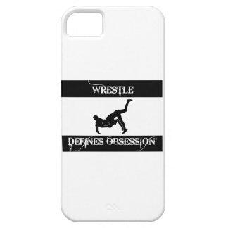 obsesionado con lucha iPhone 5 carcasas