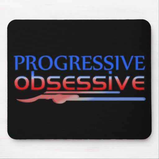 Obsesivo progresivo tapetes de ratón