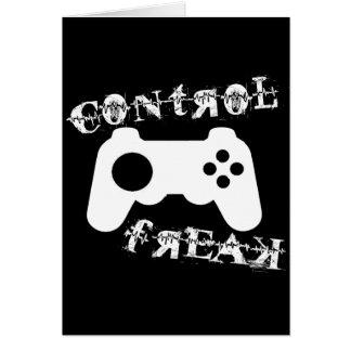 Obseso del control tarjeta