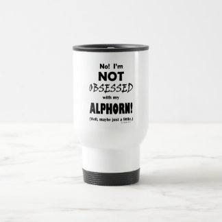 Obsessed Alphorn Travel Mug